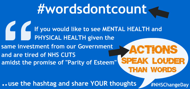 Words dont count campaign